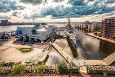 The Nauticus and Hampton Roads Naval Museum in Norfolk, Virginia. http://nauticus.org https://www.history.navy.mil/museums/hrnm/index.html