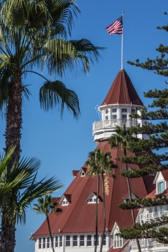 The Hotel Del Coronado has hosted celebrities, presidents, and royalty since opening in 1888. https://en.wikipedia.org/wiki/Hotel_del_Coronado