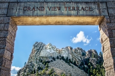 The Grand View Terrace at Mount Rushmore.